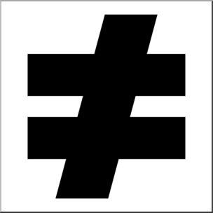 clip-art-math-symbols-not-equal-sign-b-w-i-abcteach-com-arresting-clipart[1]